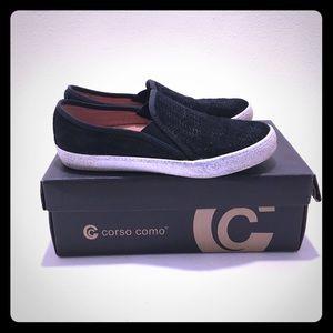 Corso Como Black Slip- On